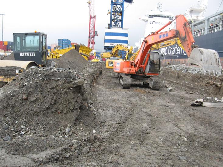 Opere stradali e opere edili  Attività  Giuggia Costruzioni S.n.c.